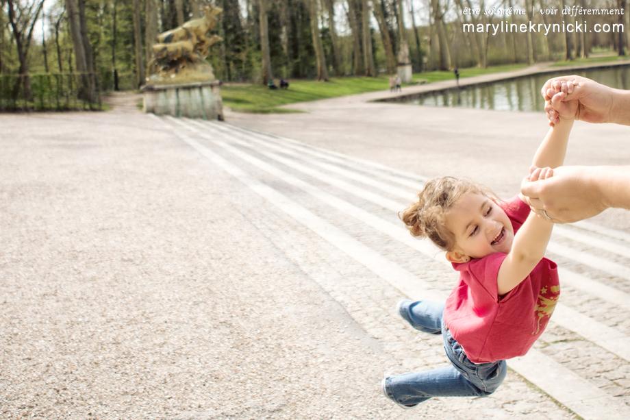 Séance en famille au Parc de Sceaux