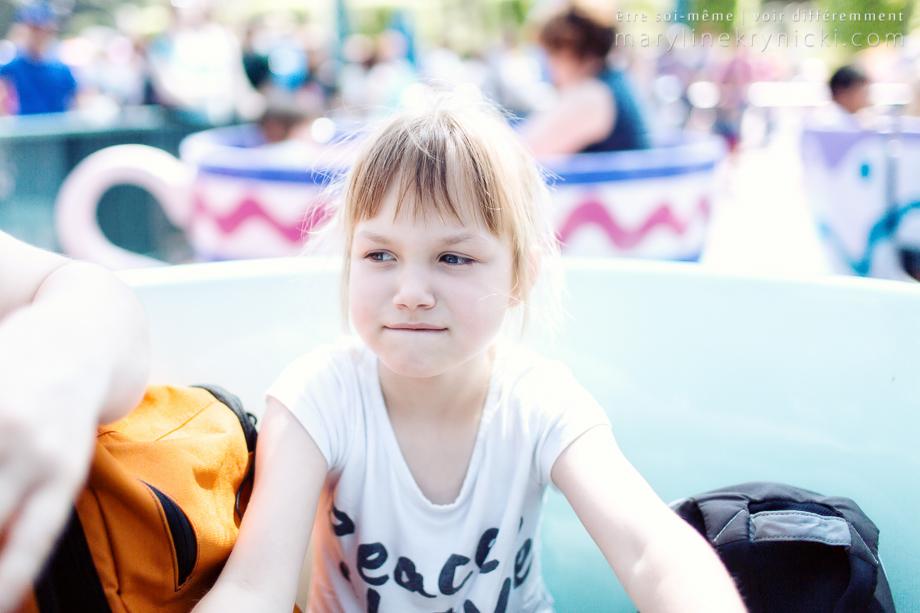 Photos en famille à Disneyland