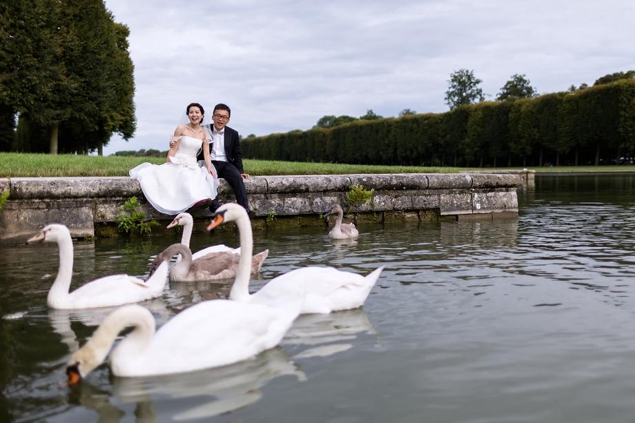 Séance couple à Versailles