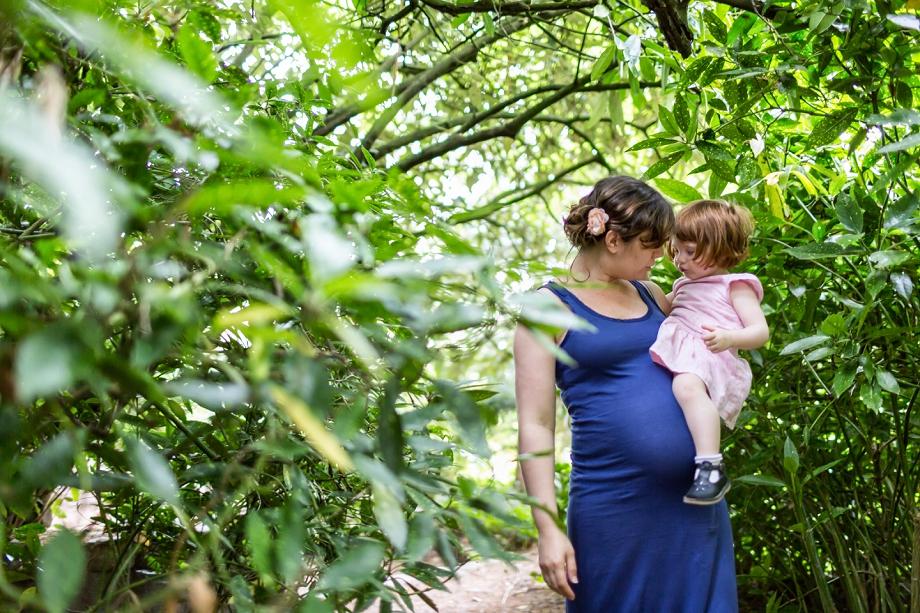 Séance grossesse au Parc de la Vallée aux Loups