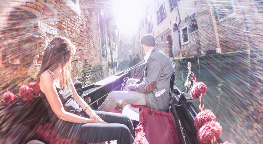 Photographe de couple à Venise