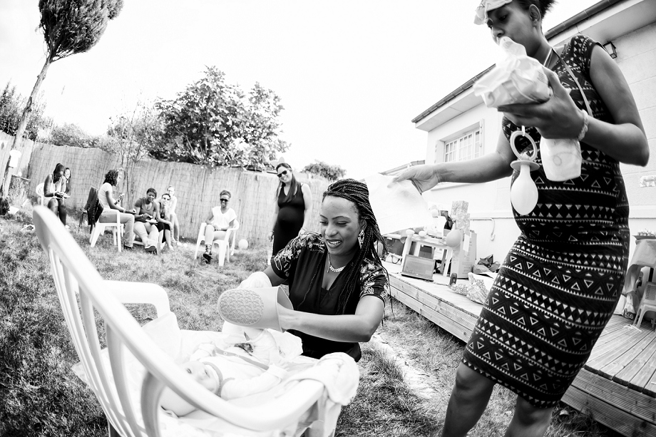 Reportage baby shower