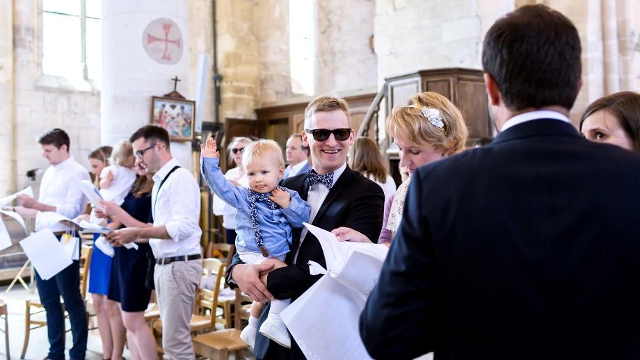 Baptême à Villiers Adam